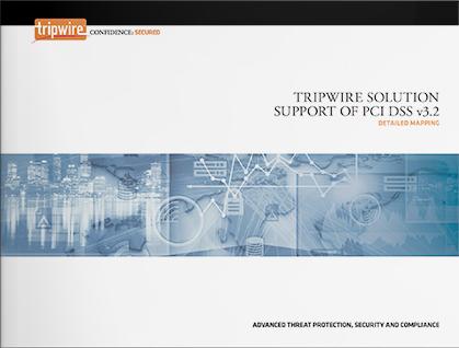 TripwireソリューションのPCI DSSサポートマッピング(英語版)